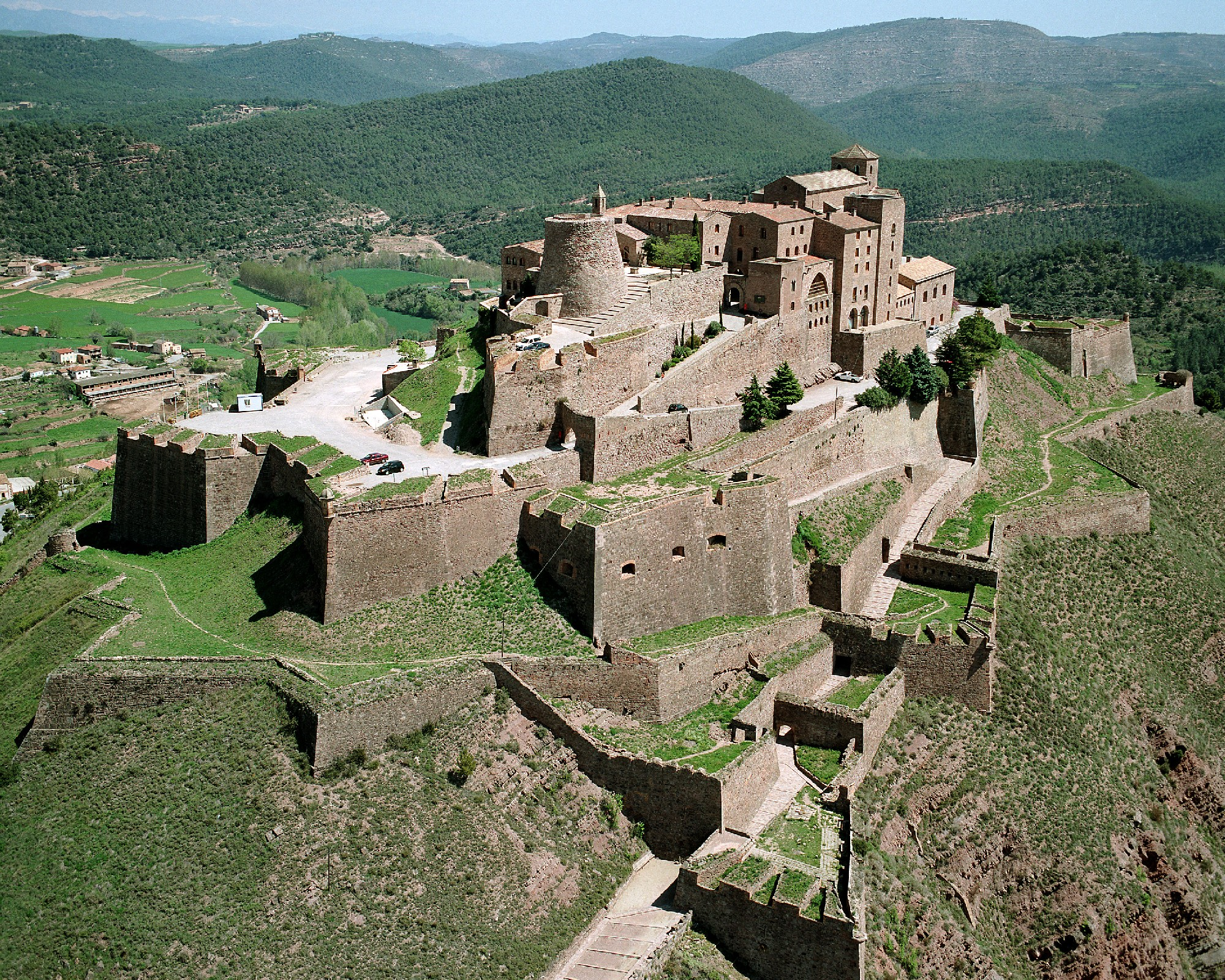 Cardona Spain  city photo : Parador de Cardona | Lauren Carter, Writer & Creativity Coach