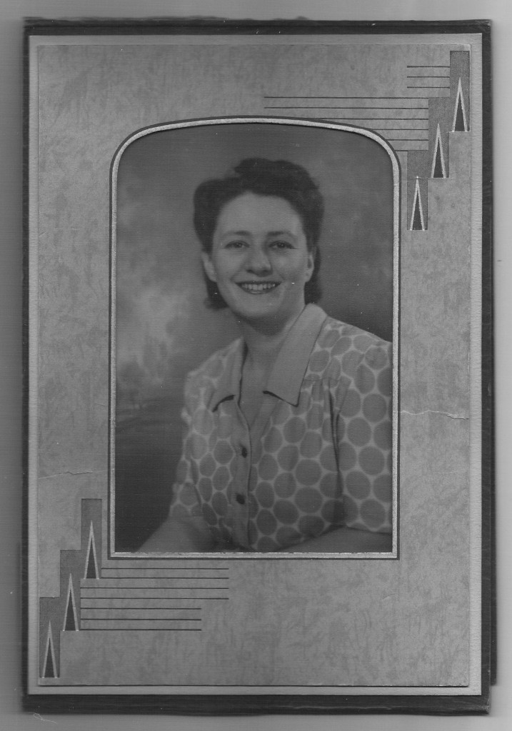 """A picture of Shelly's grandmother, Rachel Talan Geary. """"I keep this photo on my desk to remind me of her courage and strength while I'm writing,"""" says Shelly."""