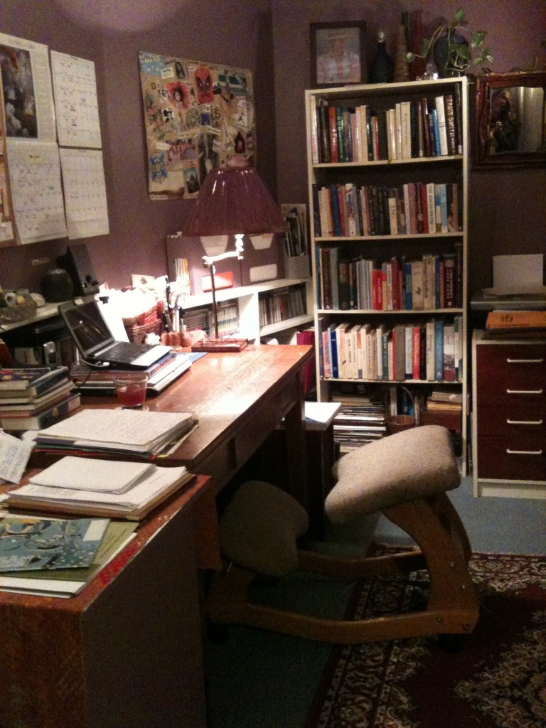 Andrea's workspace