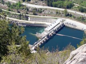 Brilliant Dam, near Castlegar (near the Arrow Lakes)