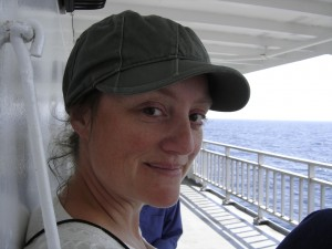 Me on the ferry from South Baymouth to Tobermory, Summer 2008