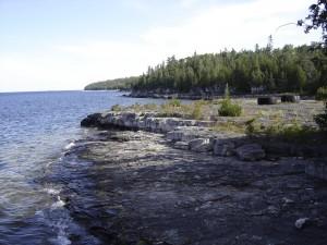 Manitoulin Island shoreline