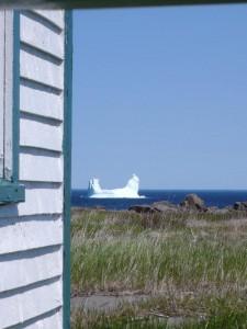An iceberg off Fogo Island