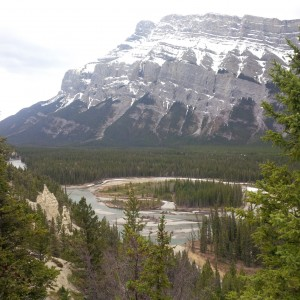 view in Banff