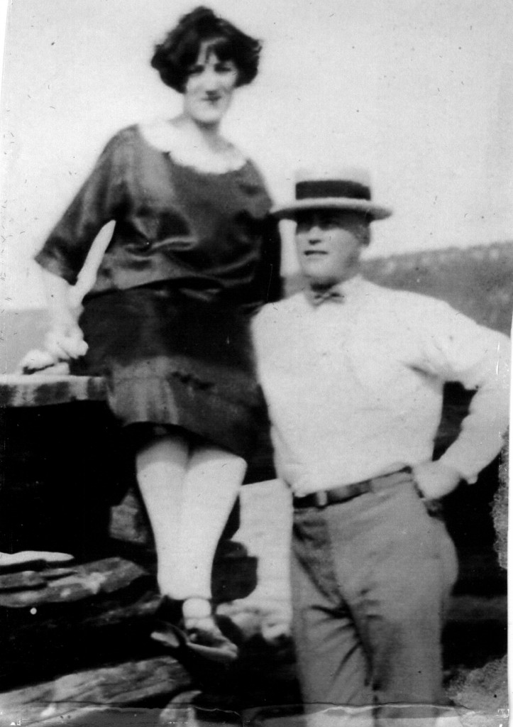 My grandparents'  wedding day on Manitoulin Island, 1921