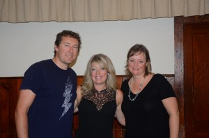 The Crossroad Magdalenes (Greg Maclachlan and Christina Foster) and me