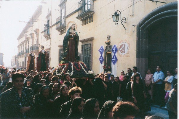 Easter procession in San Miguel, April 1998