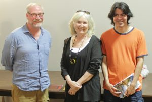 David, Lorri, and Garry - Photo by Amy Bradt