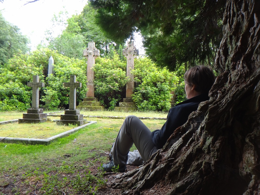 At the Chisholm graveyard, near Struy